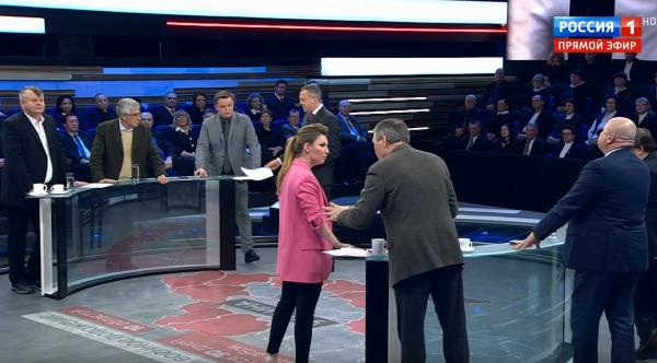 О чём говорят эксперты на российском телевидении. Программа 60 минут, канал Россия-1