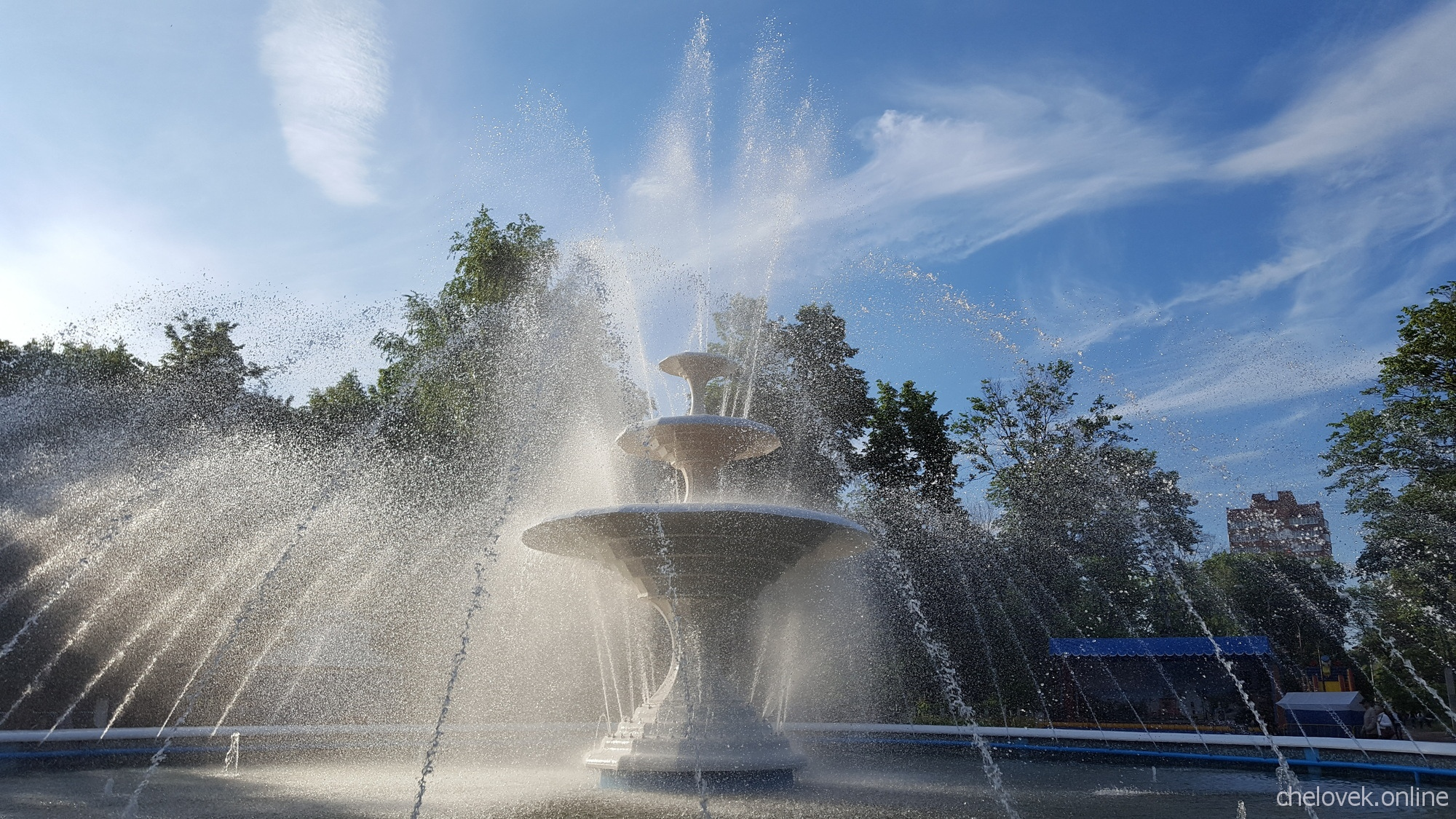 Фонтан в Центральном парке культуры и отдыха Автозаводского района города Нижнего Новгорода