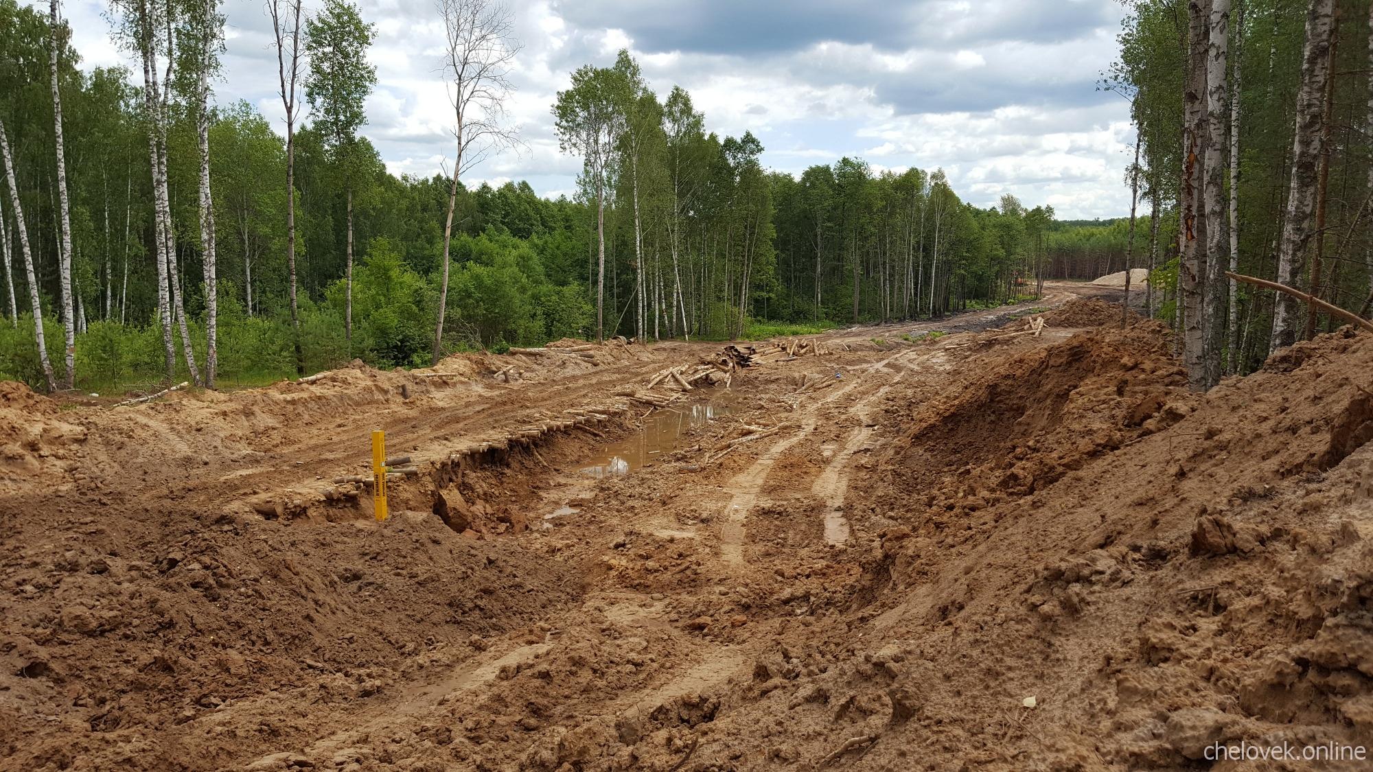 Строительство нефтепровода, Нижегородская область